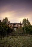Griezelig huis Stock Fotografie