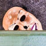 Griezelig masker stock foto's