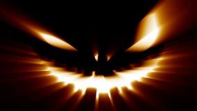 Griezelige Halloween-hefboom-o-lantaarn kwaad eng verschrikkingsgezicht vector illustratie
