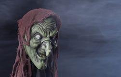 Griezelige Halloween-Heks Royalty-vrije Stock Afbeeldingen