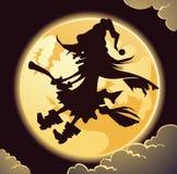 Griezelige heks stock illustratie