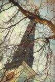 Griezelige Kerktorenspits stock afbeelding
