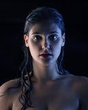 Griezelige, natte, sexy vrouwen - verleiding… Royalty-vrije Stock Fotografie