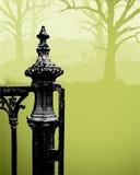 Griezelige Poort Royalty-vrije Stock Afbeeldingen