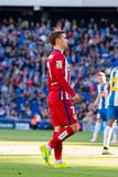 Griezmann plays at the La Liga match between RCD Espanyol and Atletico de Madrid Stock Photo