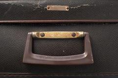 Griff auf einem alten Koffer Lizenzfreie Stockbilder