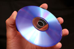 Griff CD stockfotografie