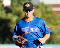 Griff Gordon, Charleston RiverDogs Royalty-vrije Stock Foto's