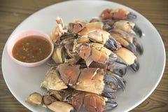 Griffe de crabe le concept du papier peint photographie stock
