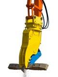 Griffe hydraulique photo libre de droits