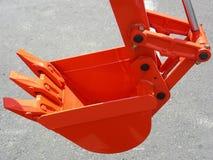 Griffe orange Images libres de droits