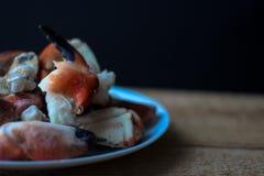 Griffes de crabe de côte atlantique photos libres de droits