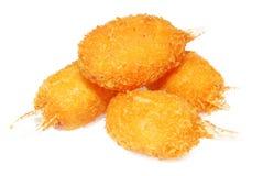 Griffes frites de crabe photo stock