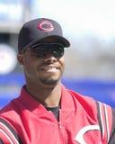 Griffey Jr , Cincinnati Reds arkivbild