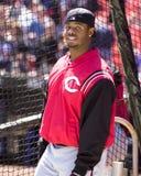 Griffey Jr , Cincinnati Reds Royaltyfri Foto