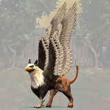 Griffin #01 Royalty Free Stock Photo