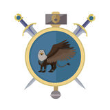 Griffin Avatar Icon Image stock