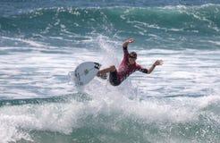 Griffin Colapinto que compite en el US Open de practicar surf 2018 foto de archivo libre de regalías