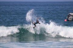 Griffin Colapinto Surfing en el US Open de las furgonetas de practicar surf 2018 foto de archivo