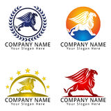Griffin Concept Logo Stockfotos
