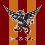 Griffin Emblem Stock Image