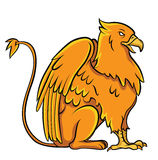 Griffin. Eps 10  illustration Design Stock Photography