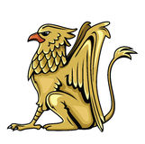 Griffin. Eps 10  illustration Design Stock Photo