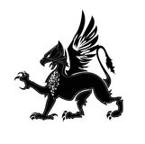 Griffin heraldry 2 Stock Photography