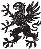 Griffin heraldry symbol Stock Photos