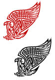 Griffin symbol in celtic style Royalty Free Stock Photography