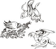 Griffins Royalty Free Stock Images