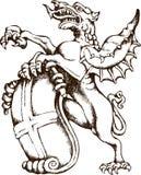 Griffioen van Londen royalty-vrije illustratie