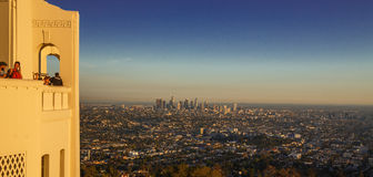 Griffith παρατηρητήριο & Λος Άντζελες πάρκων Στοκ φωτογραφίες με δικαίωμα ελεύθερης χρήσης