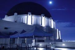 Griffith παρατηρητήριο τη νύχτα στοκ φωτογραφίες με δικαίωμα ελεύθερης χρήσης