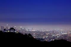 Griffith παρατηρητήριο στοκ φωτογραφία με δικαίωμα ελεύθερης χρήσης