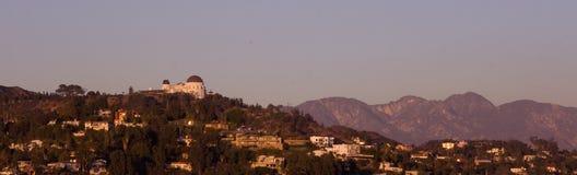 Griffith-Beobachtungsgremium-Panorama Lizenzfreies Stockbild