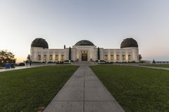 Griffith Oberservatory Before Dawn Royalty Free Stock Photos