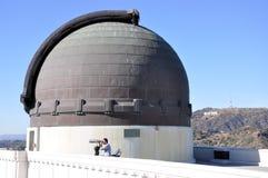 griffith observatorium Arkivbilder