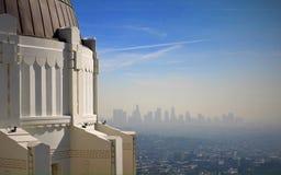 Griffith Observatory imagem de stock