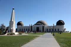 Griffith Observatory Foto de Stock Royalty Free