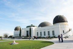 Griffith Observatory Photographie stock libre de droits