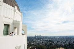 Griffith Observatory Images stock