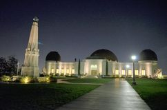 Griffith Observatory Royalty Free Stock Images