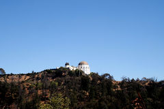 Griffith Observatory Landscape Imágenes de archivo libres de regalías