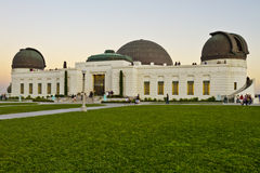 Griffith Observatory in Los Angeles Stock Photos
