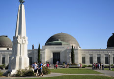 Griffith Observatory Los Angeles stock image