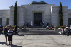 The Griffith observatory, Los angeles, California Royalty Free Stock Image