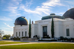 Griffith Observatory - Los Angeles, California, U.S.A. fotografia stock