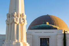 Griffith Observatory in Los Angeles Royalty Free Stock Photo