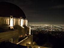 Griffith Observatory in Los Angeles. USA Royalty Free Stock Photography